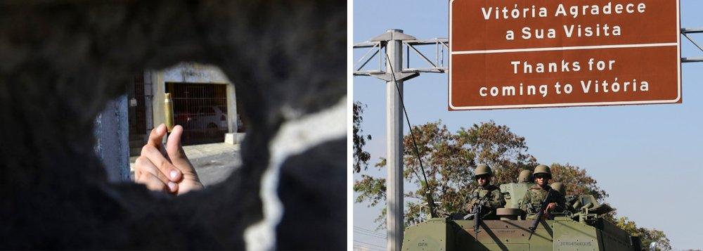 """""""O jovem Matheus Martins da Silva, de 17 anos, não tinha passagem pela polícia, não portava arma e estava perto de casa, num bairro pobre da região metropolitana de Vitória, quando levou um tiro de fuzil na cabeça, disparado por um dos militares que patrulhavam a área, e morreu"""", relata Joaquim de Carvalho, no DCM; no entanto, em vez de cobrar punição pelo caso, internautas saíram em defesa da imagem do Exército"""