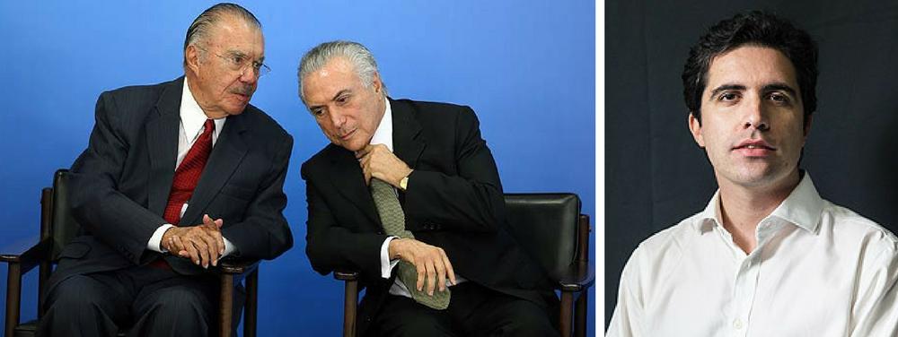 Bernardo Mello Franco, Sarney e Temer