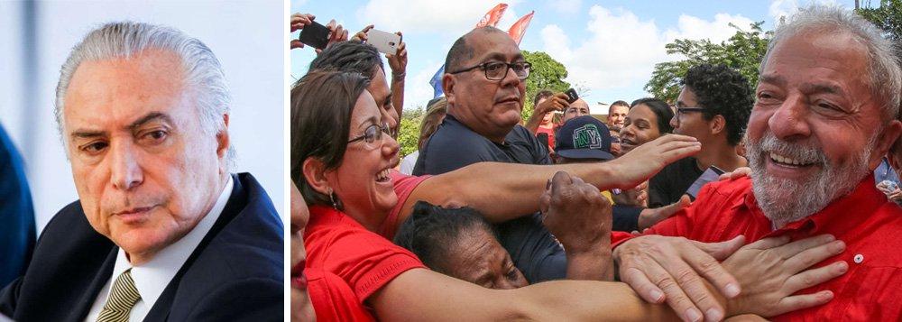 Qual é lógica que rege o Brasil nos dias atuais? O governo de Michel Temer, amplamente rejeitado pela população brasileira, vem sendo blindado pelo Poder Judiciário, como na decisão de ontem do ministro Celso de Mello, que garantiu foro privilegiado a Moreira Franco, acusado de receber propina de R$ 4 milhões da Odebrecht; em paralelo, o ex-presidente Lula, que lidera as pesquisas de intenção de voto, sofre uma caçada implacável do poder Judiciário; a questão é: por que a juristocracia brasileira decidiu agir contra a própria população?