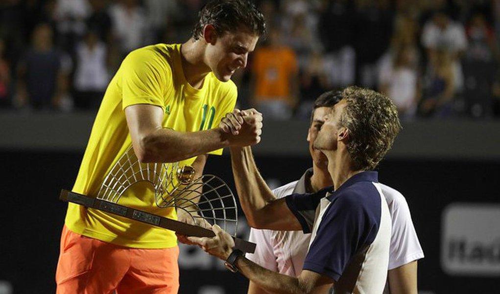 Tenista austríaco, oitavo colocado no ranking da ATP, confirmou favoritismo ao conquistar neste domingo 26 o título com a vitória na decisão sobre o espanhol Pablo Carreño Busta, o número 24 do mundo, por 2 sets a 0