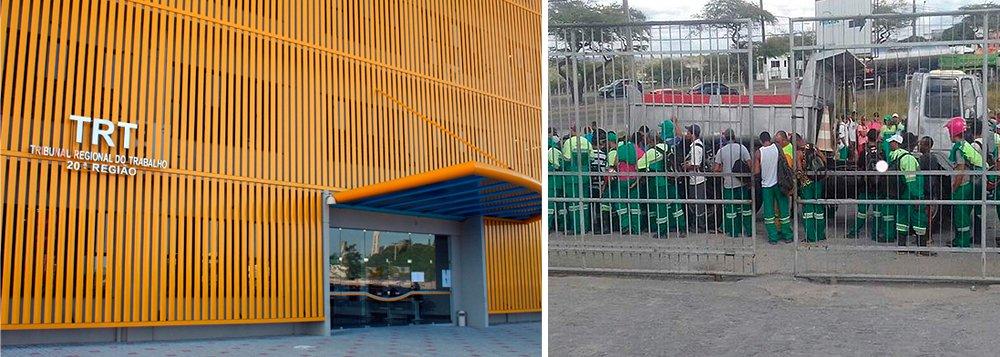 Após negociação e acordo entre a empresa Cavo Saneamento e representantes do Sindicato dos Agentes de Limpeza de Sergipe (Sindilimp), na sede do Tribunal Regional do Trabalho da 20ª Região (TRT-20), garis e margaridas suspenderam a greve em Aracaju; foram aceitas reivindicações trazidas pelos trabalhadores, caso da melhoria das condições de trabalho, remuneração e compensação dos dias de paralisação, entre outras