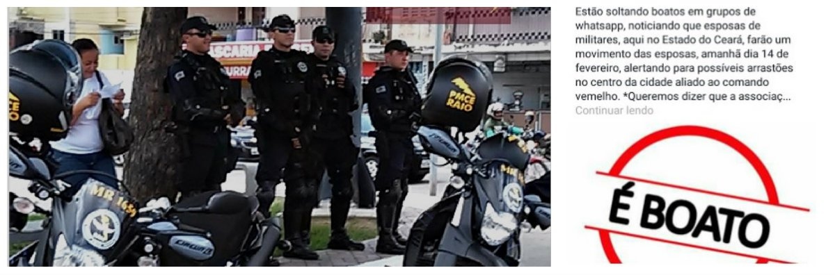 Em função de boatos que circularam hoje, nas redes sociais de uma suposta manifestação das mulheres de policias do Ceará, à exemplo do que acontece no Rio de Janeiro e no Espírito Santo, a ASSEPEC-Associação das esposas PMs/BMs-CE divulgou Nota Oficial, esclarecendo e desmentindo o assunto