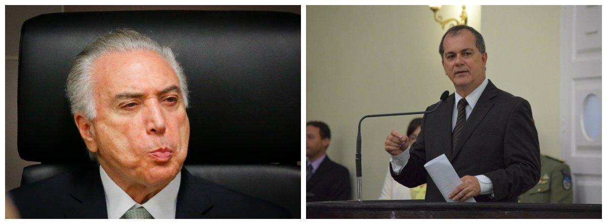 """Companheiro de partido do presidente Michel Temer, o deputado estadual Ronaldo Medeiros (PMDB) afirmou, na Assembleia Legislativa de Alagoas (ALE), que o chefe de Estado """"não deve estar mentalmente bem"""", pelo fato de defender a proposta de reforma da Previdência Social; """"Ao que parece, ele não está mentalmente bem porque defende tal proposta. Eu até cheguei a pensar que ele não havia lido as proposições. Se não houver uma intervenção do Congresso, as pessoas vão morrer sem se aposentar"""", disse o parlamentar"""
