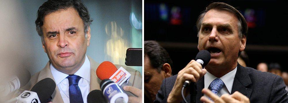"""Jornalista Kiko Nogueira afirmou que os números da pesquisa CNT/MDA mostraram o quão mau negócio foi para o PSDB e seu presidente, o senador Aécio Neves (PSDB), o golpe parlamentar de 2016; """"""""A aposta na instabilidade, na aliança com Cunha, na esperança de se livrar da Lava Jato, levou os pessedebistas a ser vistos não como alternativa à corriola temerista, mas como continuidade"""", diz Nogueira; """"A farsa do impeachment deu na jararaca mais viva do que nunca e num Bolsonaro crescendo nas entranhas do cadáver político de Aécio Neves"""""""