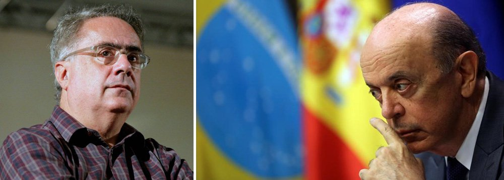 Jornalista Luis Nassif aponta quatro fatores na demissão de Serra do Ministério das Relações Exteriores:a irrelevância de sua atuação no Itamaraty, sua irrelevância política, a Lava Jato e a doença