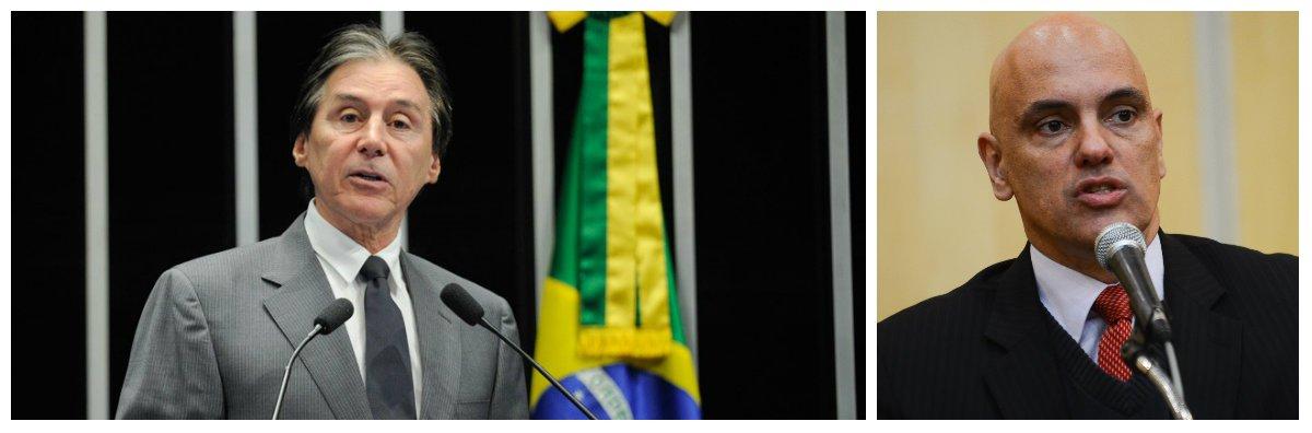 O senador Eunício Oliveira pretende encaminhar a votação em plenário, imediatamente após a sabatina a que o ex-ministro será submetido, amanhã (21), na Comissão de Constituição e Justiça (CCJ) do Senado. A avaliação é que ele será aprovado sem percalços, já que os partidos que integram a base do governo Michel Temer detêm a maioria das vagas na comissão. Caso a sabatina não se estenda por muitas horas, Eunício tem dito que deverá encaminhar a votação em plenário no mesmo dia