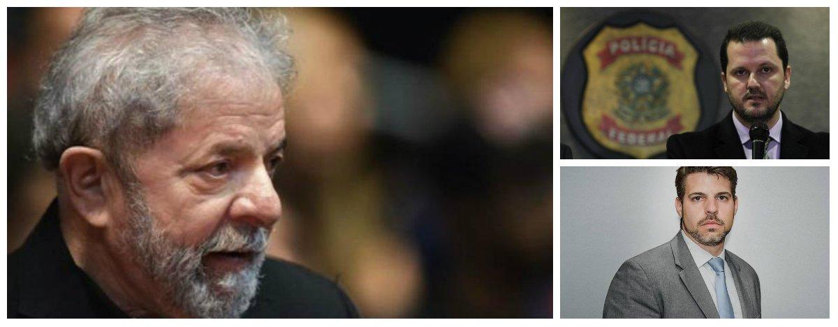Pedido de investigação feito pelo líder do PT na Câmara, Carlos Zarattini (SP), e pelos deputados Wadih Damous (PT-RJ) e Paulo Pimenta (PT-RS) foi encaminhado pela Comissão de Ética da Presidência da República ao Ministério da Justiça; solicitação de abertura de processo questionava a conduta éticados delegadosda Polícia Federal Maurício Moscardi Grillo e Igor Romário de Paula, da Lava Jato, em relação a uma possível prisão do ex-presidente Lula