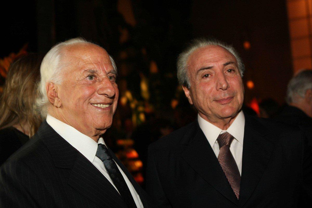 José Yunes e Michel Temer