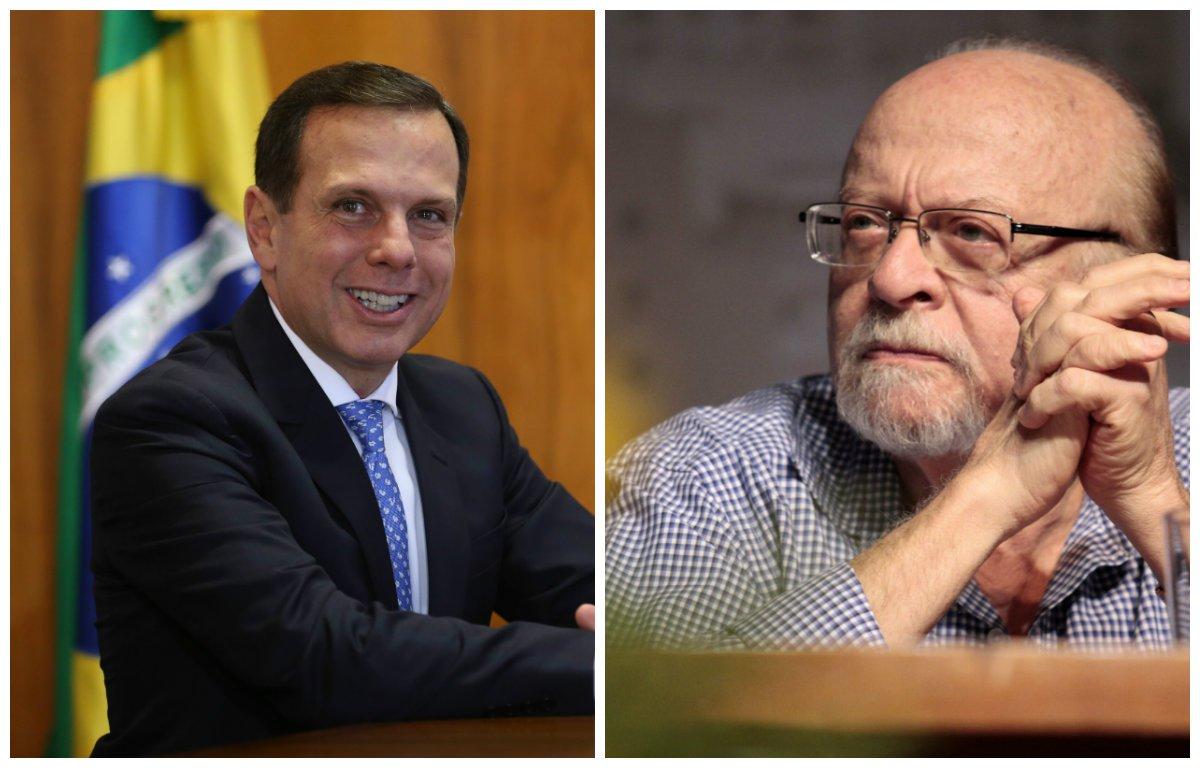 """""""Doria caiu como um patinho na armadilha do Goldman. O vice-presidente do PSDB, o mesmo partido de Doria, aliás, postou um vídeo dizendo que, em nove meses de mandato, ainda não nasceu o prefeito de São Paulo e sim um candidato a presidente da República. Em vez de respeitar a opinião de um cara mais velho e com muito mais história na vida brasileira e no partido do que ele, como faria um democrata, Doria partiu pra cima de Goldman"""", diz o colunista Alex Solnik; """"Quanto mais tempo ele está prefeito, mais se percebe a sua incompetência. Ele quer ser candidato a presidente para sair logo da prefeitura, no auge do fracasso"""""""