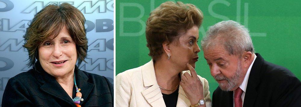 """Segundo denúncia publicada pelo blogueiro Eduardo Guimarães, a diretora da Globonews Eugênia Moreyra teria determinado que, assim que as delações fossem liberadas pelo ministro Fachin, uma força-tarefa de jornalistas da emissora que estaria sendo montada buscaria no material menções aos ex-presidentes Lula e Dilma e divulgaria imediatamente essas menções em edição extraordinária da Globo; em resposta a Guimarães, a jornalista negou com veemência as acusações e reforçou que a emissora é """"apartidária""""; leia a íntegra"""