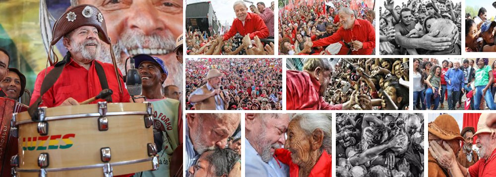 """""""Qualquer analista político minimamente honesto, que queira compreender o Brasil como nação deve considerar o papel desempenhado por Lula nas representações sociais, culturais e valorativas que povoam a alma do brasileiro"""", avalia o cientista político Robson Sávio Reis Souza sobre o ex-presidente Lula; """"A história de Lula é duplamente capturada: pelo povo, que vê nele um líder, capaz de oferecer coragem, esperança e fé para a superação das mazelas deste país. E pelas elites, que enxergam nele um verdadeiro monstro a impedir seus intentos. Independentemente de seus vícios, Lula é vitorioso. Mesmo sendo constrangido por futuras posições justiceiras, ele será o fiel da balança nas eleições de 2018. É o feitiço a virar contra os feiticeiros"""", diz Robson"""