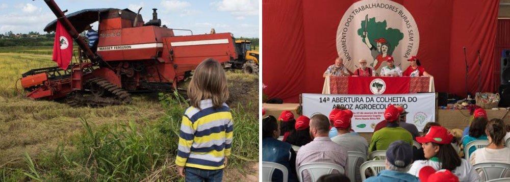 Para a safra do arroz orgânico de 2016-17, o MST estima a colheita de mais de 27 mil toneladas, produzidas em 22 assentamentos diferentes, envolvendo 616 famílias gaúchas. Também serão produzidas 22.260 sacas de sementes, que não são transgênicas; apenas no município gaúcho de Nova Santa Rita, a produção do MST faz circular R$ 7 milhões por ano, movimentando a economia local; segundo a BBC, o movimento exporta 30% de sua produção