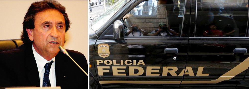 """A coletiva da Polícia Federal serviu para esclarecer que a chamada operação """"Pegadores"""" foi deflagrada para desmontar o esquema de empresas terceirizadas, usadas para lavar dinheiro público, montado ainda na gestão de Ricardo Murad; a ação da PF desta vez provocou a prisão de 17 pessoas, entre elas a ex-subsecretária de Saúde, Rosângela Curado, flagrada em movimentações financeiras atípicas da ordem de R$ 1 milhão"""