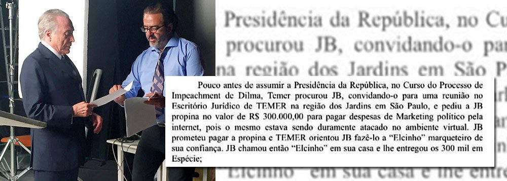 Não deixemos mais essa alma penada a sofrer. O povo brasileiro precisa abreviar o prazo do fantasma que ocupa a presidência