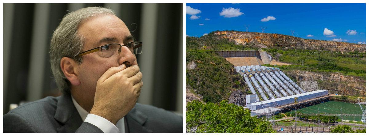 Ex-deputado Eduardo Cunha (PMDB-RJ) e usina hidrelétrica de Furnas .2