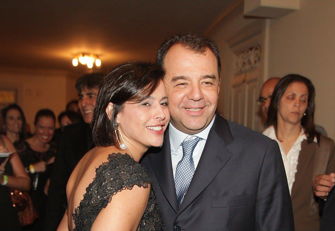 Adriana Ancelmo e Sergio Cabral