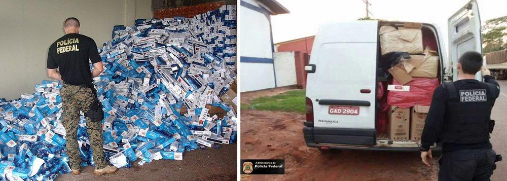 A Polícia Federal deflagrou nesta terça-feira 15, em cinco Estados, operação para desarticular uma organização criminosa especializada em lavagem de dinheiro e evasão de divisas acusada de movimentar ilegalmente R$ 5,7 bilhões principalmente para a compra de drogas e mercadorias do Paraguai, em especial cigarro
