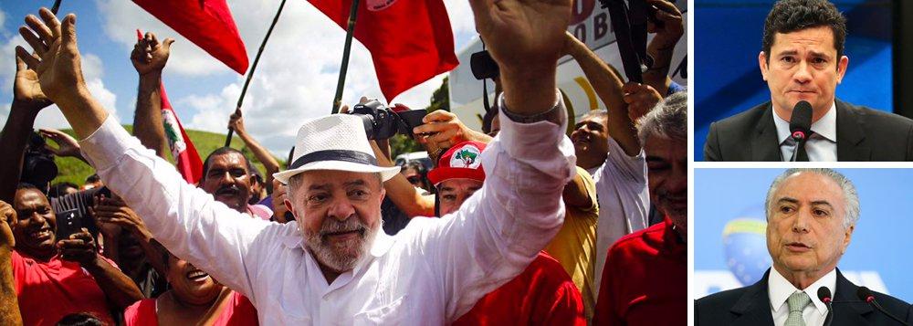"""""""A destruição da figura política e histórica de Lula era um dos objetivos iniciais da Lava Jato, particularmente dos procuradores de Curitiba e do juiz Moro, mas também dos políticos que se agregaram no golpe e de boa parte do jornalismo político. Com o estilhaçamento do bloco golpista, com a percepção de que o governo Temer é uma quadrilha e com o envolvimento crescente de políticos governistas nas denúncias de corrupção, a frente ampla de ataque a Lula se reduziu"""", diz o colunista Aldo Fornazieri, que defende as caravanas; """"Lula saiu da condição de ser um alvo fixo e passivo do juiz Moro e da Lava Jato. Saiu da defensividade para travar uma guerra mental, na fluidez de um terreno em que ele tem o domínio e que os seus inimigos não o conhecem e onde não sabem se mover"""""""