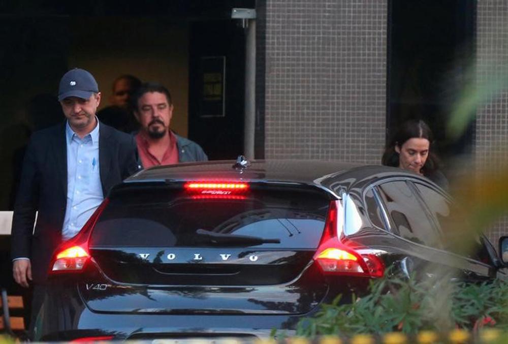 Empresário Joesley Batista deixa prédio da Polícia Federal em Brasília. 21/06/2017 REUTERS/Adriano Machado