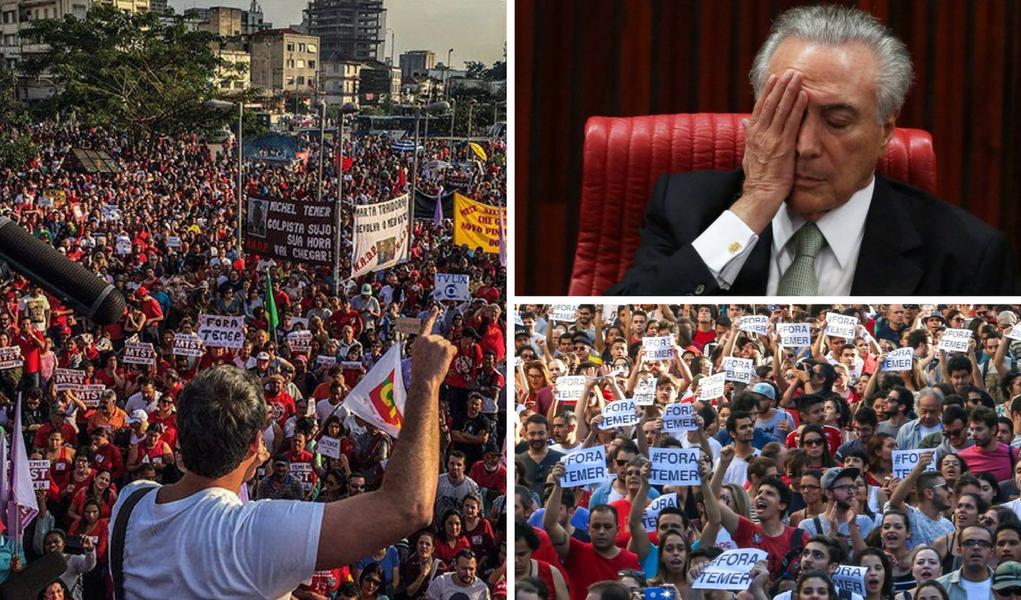 Rejeitado por mais de noventa e cinco por cento dos brasileiros, o governo Temer busca as bênçãos dos 35 países mais desenvolvidos do mundo que nada mais querem que a nossa submissão à globalização financeira