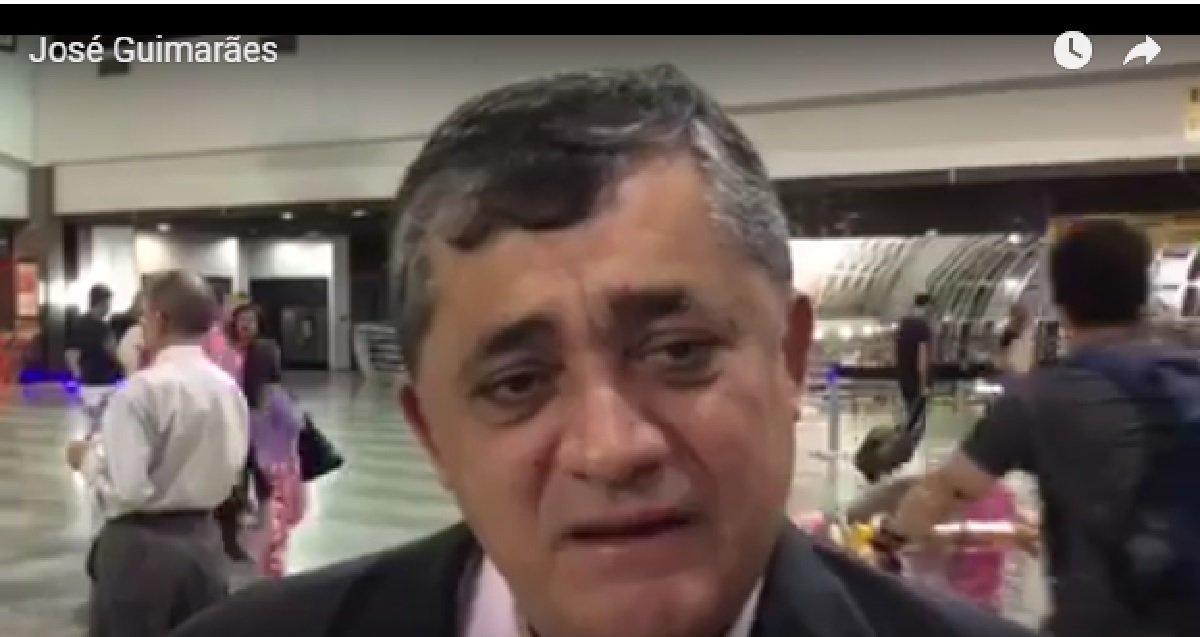 """Em entrevista ao jornalista Eliomar de Lima, o deputado José Guimarães afirmou que Lula é o único que pode reunificar o País e pensar um novo modelo de desenvolvimento. Para Guimarães, Lula está crescendo nas pesquisas porque ninguém esquece o legado dos governos do ex-presidente. """"O Lula conseguiu três coisas fundamentais: crescimento econômico, emprego e renda. Nenhum outro governo conseguiu isso"""""""