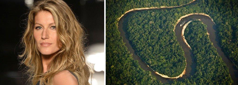 """""""VERGONHA!Estão leiloando nossa Amazônia! Não podemos destruir nossas áreas protegidas em prol de interesses privados"""", postou a modelo internacional em seu Twitter, sobre decreto assinado por Michel Temerque extingue a Reserva Nacional do Cobre e Associados (Renca), localizada entre o Amapá e o Pará"""