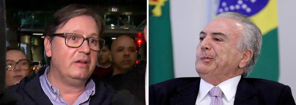 Os R$ 500 mil recebidos pelo deputado afastado Rodrigo Rocha Loures (PMDB-PR) estão desaparecidos; filmado recebendo propina em uma pizzaria de SP, Rocha Loures era um dos homens de confiança de Michel Temer e usaria o dinheiro para comprar o silêncio de Eduardo Cunha
