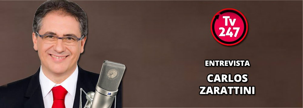 A TV 247 entrevista nesta tarde, às 18h, o deputado federal Carlos Zarattini (PT-SP), líder da bancada na Câmara dos Deputados; o tema principal é a denúncia contra Michel Temer e o clima na Câmara para que ele seja afastado ou não do cargo.