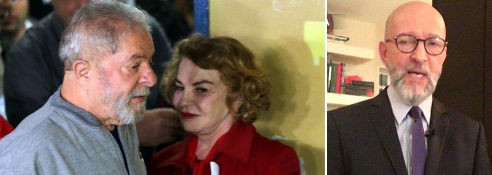 """Ex-presidente Lula divulgou nesta sexta-feira, 29, uma carta aberta ao jornalista Josias de Souza, do UOL, rebatendo críticas que vem sofrendo do jornalista; Lula diz que Josias tem feito declarações cheias de """"desrespeito e mentira"""" contra a memória da ex-primeira-dama Marisa Letícia; """"Lula jamais acusou ou usou sua esposa de 'álibi'. Quem acusou, injustamente, sua esposa foram os procuradores da Lava Jato chefiados por Deltan Dallagnol, que o fizeram em processos sem sentido sobre pedalinhos e imóveis que jamais foram da família Lula, para tentar atingir o ex-presidente. Nem Lula nem Dona Marisa cometeram qualquer crime. Errada foi a divulgação de conversas telefônicas privadas da primeira-dama para fins políticos e midiáticos"""", diz a carta"""