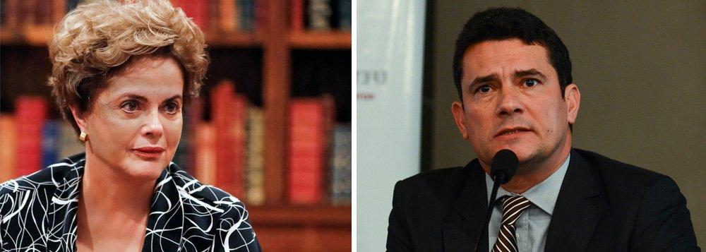 """Presidente deposta Dilma Rousseff prestou depoimento ao juiz federal Sérgio Moro como testemunha de defesa do ex-presidente da Petrobras Aldemir Bendine; em sua oitiva, por meio de videoconferência, Dilma afirmou que o governo tinha interesse no grupo Odebrecht em função da importância das suas empresas para o país e não em função de doações para campanhas políticas; """"Tínhamos uma relação de grande interesse não para que eles contribuíssem ou não para a campanha, mas pela importância que o grupo tinha e, acredito que ainda tem, na economia brasileira"""", disse"""