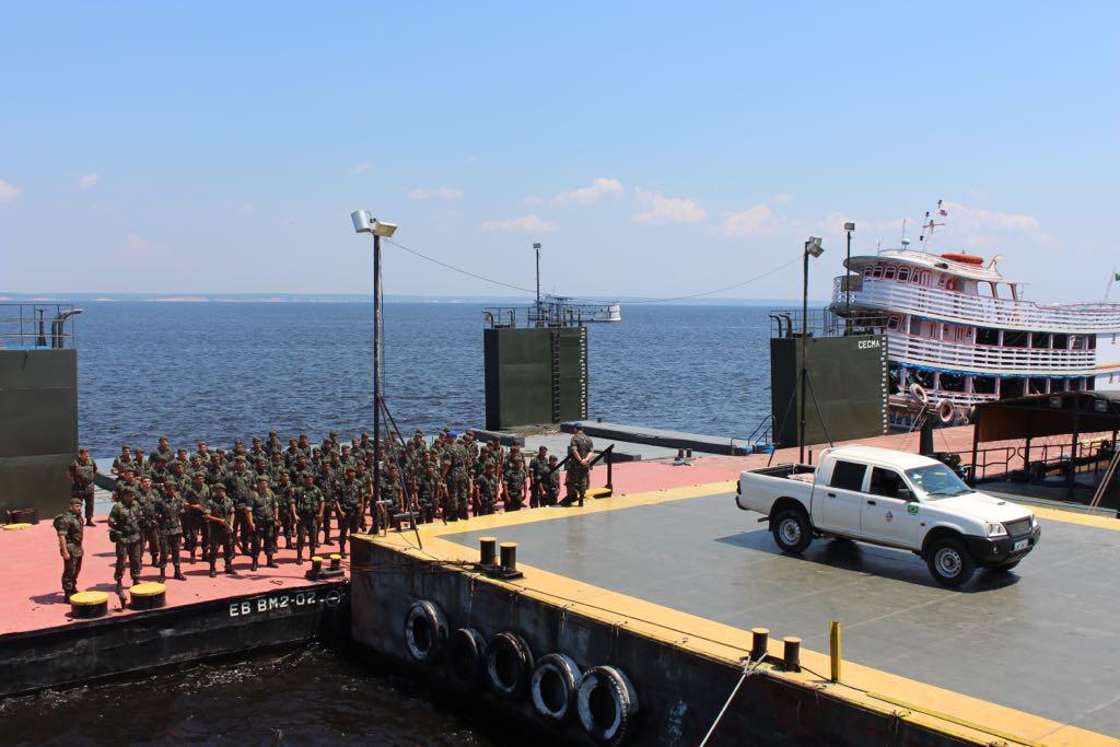06/08/2017- Manaus- AM, Brasil- Exército Brasileiro auxilia o TRE-AM, nas eleições suplementares 2017. Foto: Exército