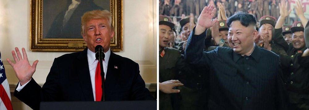Em apenas sete meses de mandato presidencial, que ele imagina ser um mandarinato, já tem duas guerras na agenda, com a Coreia do Norte e com a Venezuela, quebrou o acordo de paz com Cuba e agora enche a bola da extrema-direita americana que se inspira diretamente em Hitler