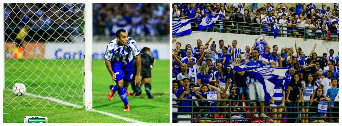 Com o estádio Rei Pelé, em Maceió, lotado, o CSA voltou a vencer o Tombense-MG, por 1 a 0, na noite desta segunda-feira (25), em jogo válido pelas quartas de final da Série C, e garantiu o retorno à série B do campeonato brasileiro de 2018, além da vaga na semifinal da competição, onde vai enfrentar o São Bento-SP no próximo fim de semana; o gol do Azulão foi de Edinho, aos 17 minutos do primeiro tempo; no jogo anterior, o Azulão bateu o time mineiro por 2 a 0