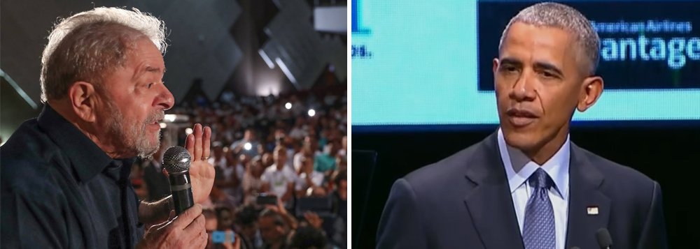 """Jornalista Fernando Brito questiona o juiz Sérgio Moro sobre a palestra do ex-presidente dos EUA Barack Obama, estimada em US$ 400 mil, nesta quinta-feira, 5, em São Paulo; """"US$ 400 mil compra, fácil, o tal triplex do Guarujá. Um único ingresso paga dois meses do aluguel do apartamento de São Bernardo. Se der uma passadinha na Argentina, onde fica, para os americanos, a nossa capital, Buenos Aires, leva o sítio de Atibaia, também. Será possível que isso não dê vergonha a juízes que se sentem capazes de condenar Lula por uma suposta 'corrupção' por 'vantagens' que ele seria capaz de comprar em uma semana com sua atividade de palestrante-celebridade?"""", escreve Brito"""