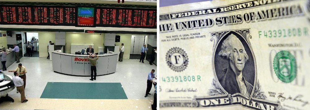 O dólar recuava nesta terça-feira e caminhava para o patamar de R$ 3,10, com os investidores apostando que eventual nova denúncia contra Michel Temer foi enfraquecida após o acordo de delação fechado pelos executivos do grupo J&F correr o risco de ser cancelado; com isso, o governo conseguiria se fortalecer politicamente e encaminhar com mais segurança a pauta econômica no Congresso; por volta das 10h, o Ibovespa estava em alta de 0,89%