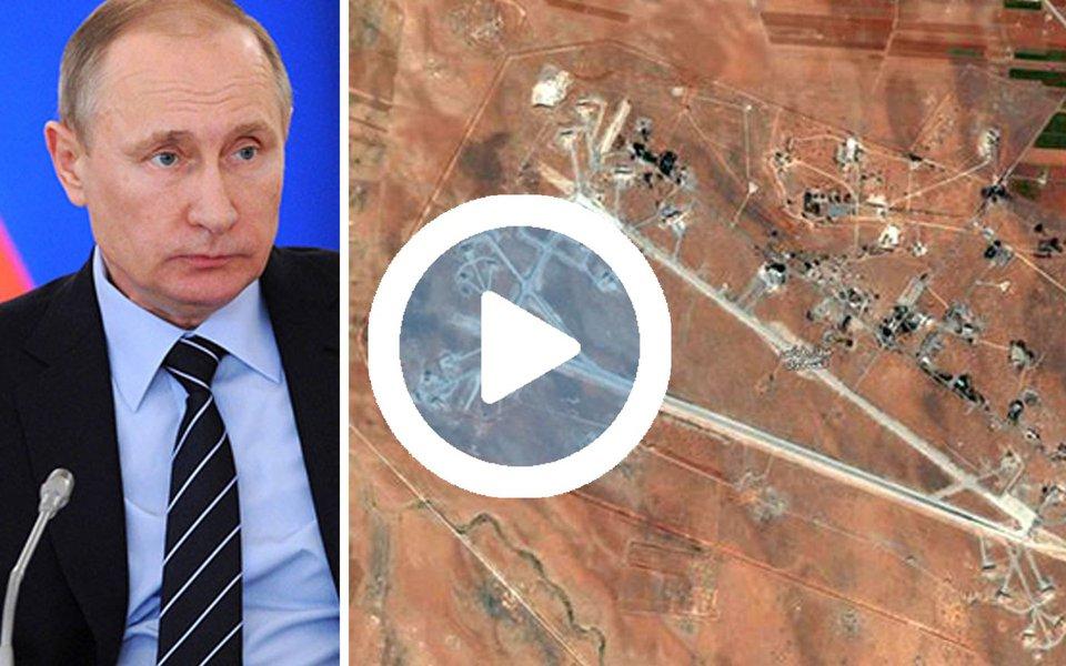 O presidente da Rússia, Vladimir Putin, condenou nesta sexta-feira os disparos de mísseis de cruzeiro dos Estados Unidos na Síria, dizendo que foram ilegais e prejudicam ainda mais as relações já abaladas entre EUA e Rússia;aliado do presidente sírio, Bashar al-Assad, Putin convocou uma reunião com seu conselho de segurança ainda nesta sexta-feira para debater o ataque norte-americano, e o Ministério das Relações Exteriores russo pediu uma reunião de emergência do Conselho de Segurança da ONU