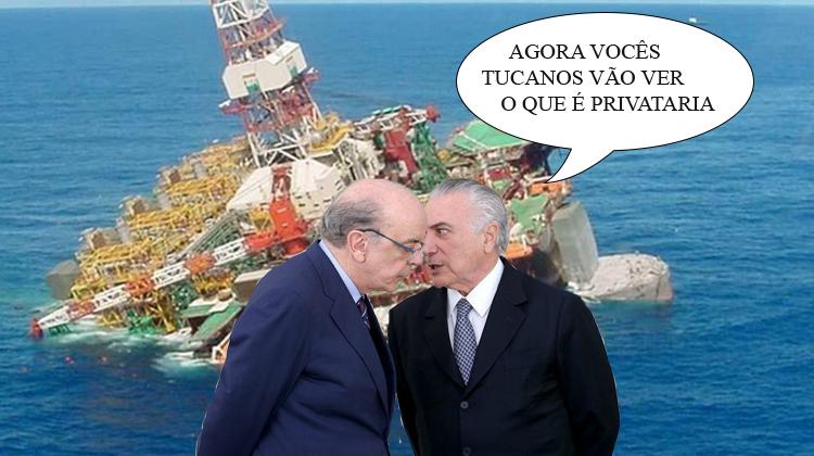 O verdadeiro roubo que ocorreu e que deverá se intensificar nos próximos leilões de cessão de áreas para petrolíferas estrangeiras explorarem