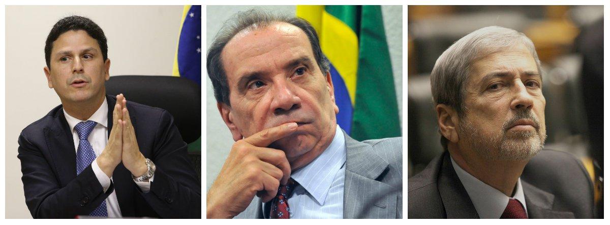 MinistrosAntonio Imbassahy (Secretaria de Governo), Aloysio Nunes (Relações Exteriores) e Bruno Araújo (Cidades) .2