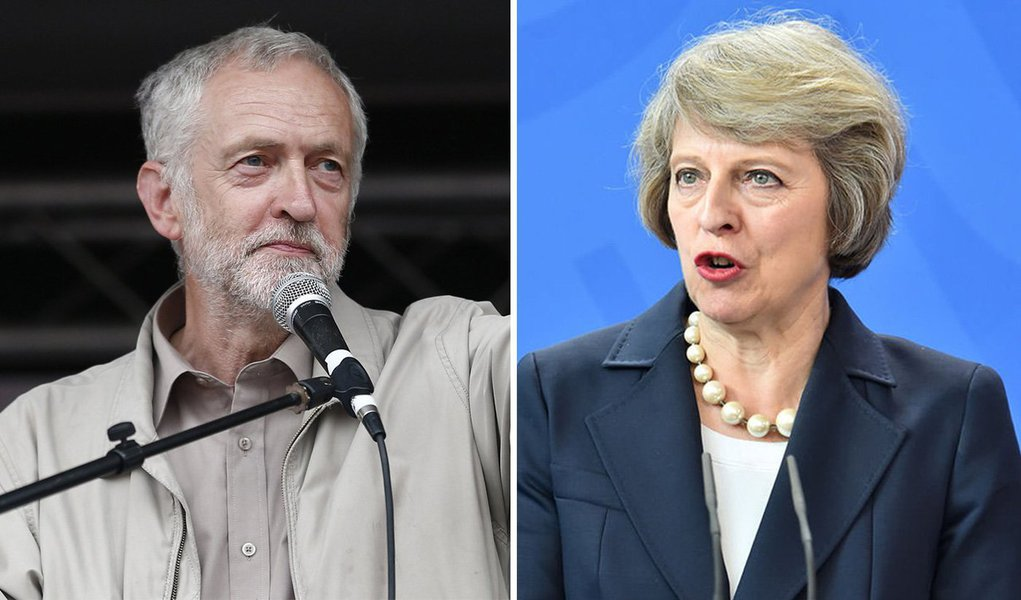 """Líder do Partido Trabalhista britânico, Jeremy Corbyn, afirmou nesta sexta-feira 9 que a primeira-ministra, a conservadora Theresa May, perdeu o mandato que esperava obter nas eleições antecipadas convocadas em abril e pediu que ela """"saia"""", abrindo assim caminho para outro governo; """"A primeira-ministra convocou estas eleições, pois queria um mandato. O que obteve foi a perda de cadeiras para os conservadores, perda de votos e perda de confiança"""", disse Corbyn, após garantir seu assento no distrito de Islington North, em Londres"""
