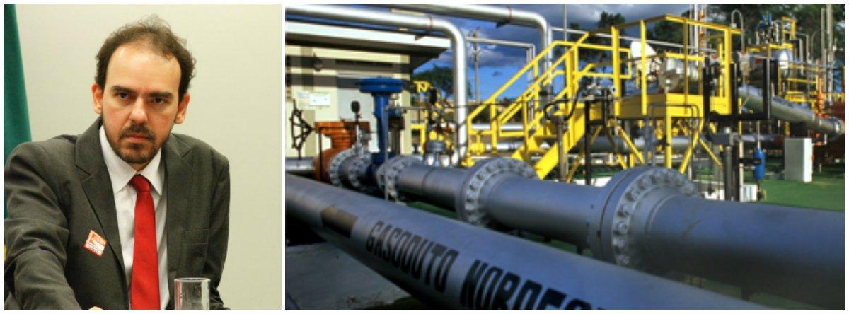 """Presidente da Associação dos Engenheiros da Petrobras, Felipe Coutinho diz que """"um sexto do recebido pela venda da NTS foi gasto em um trimestre com o aluguel dos próprios gasodutos""""; de acordo com o texto, """"em novembro de 2016 a AEPET antecipou o prejuízo certo que a Petrobras teria caso concretizasse a venda dos seus gasodutos agrupados na NTS, por onde escoará todo o gás produzido no Pré-Sal das Bacias de Campos e Santos"""""""