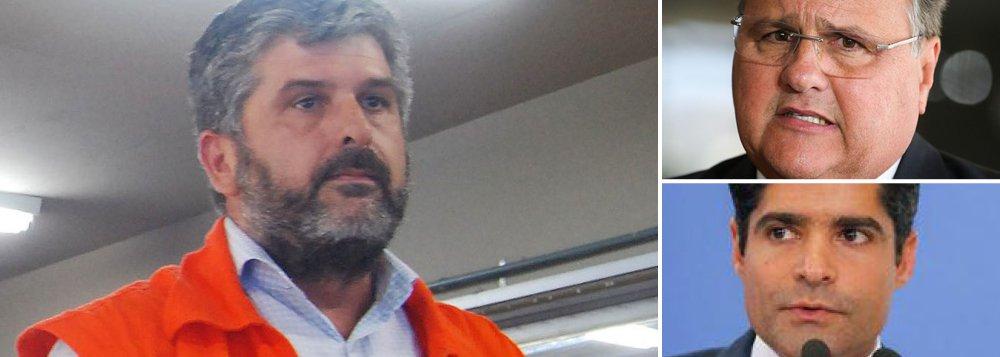 Além do ex-ministro Geddel Veira Lima, também foi preso nesta sexta-feira, 8, pela Polícia Federal o diretor-geral da Defesa Civil de Salvador (Codesal), Gustavo Ferraz (PMDB); na ordem de prisão, o juíz conta que o exame pericial feito no valor encontrado em um banker em Salvador, mais de R$ 51 milhões, identificou fragmentos de impressões digitais de Gustavo Ferraz, como também de Geddel Vieira Lima; investigadores dizem que Ferraz já foi indicado por Geddel para buscar, em 2012, valores ilícitos remetidos por Altair Alves, emissário de Eduardo Cunha