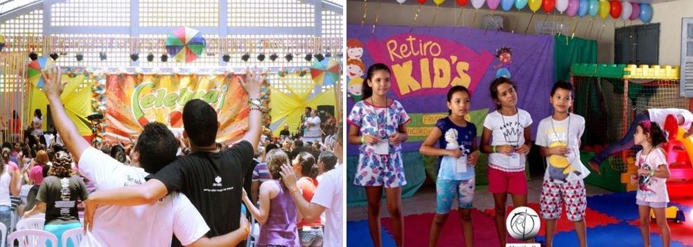 """Há quem prefira um carnaval agitado, com direito a muito frevo, axé, confete e serpentina; no entanto, muitos optam pelos quatro dias de folia de uma maneira mais reservada, desmistificando a imagem de que carnaval se resume aos festejos de rua; o ritmo de carnaval, é, na verdade, usado para outro fim; em espaços fechados, como ginásios de escolas nas mais diversas comunidades cristãs, serve para cair na """"folia de Cristo"""" e participar do chamado 'retiro'"""