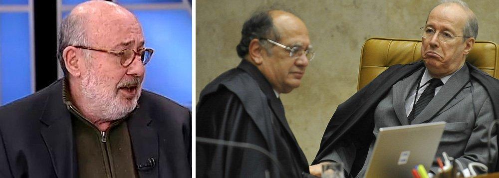 """""""Engana-se quem pensa que a lei é igual para todos neste Brasil tão desigual. Tudo depende de quem é o julgador e quem é o julgado. No STF, como vimos tantas vezes ultimamente, a política faz a lei, a Constituição pode ser flexibilizada"""", afirma o jornalista Ricardo Kotscho, sobre a decisão do ministro Celso de Mello que manteve o foro privilegiado a Moreira Franco, acusado de receber propina de R$ 4 milhões da Odebrecht"""