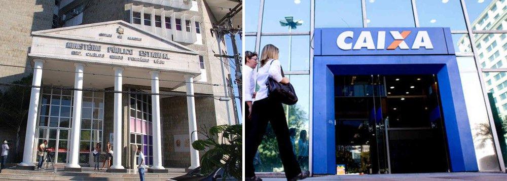 A partir de denúncias de moradores do Condomínio Porto Seguro - localizado em Rio Largo, na grande Maceió -, sobre falhas estruturais e riscos de desabamento dos imóveis, a Promotoria de Justiça do município decidiu instaurar um inquérito civil público para apurar as denúncias; laudo técnico da Defesa Civil Estadual recomendou a retirada dos moradores do condomínio e a interdição do empreendimento; Ministério Público investiga as responsabilidades da Caixa Econômica e da construtora