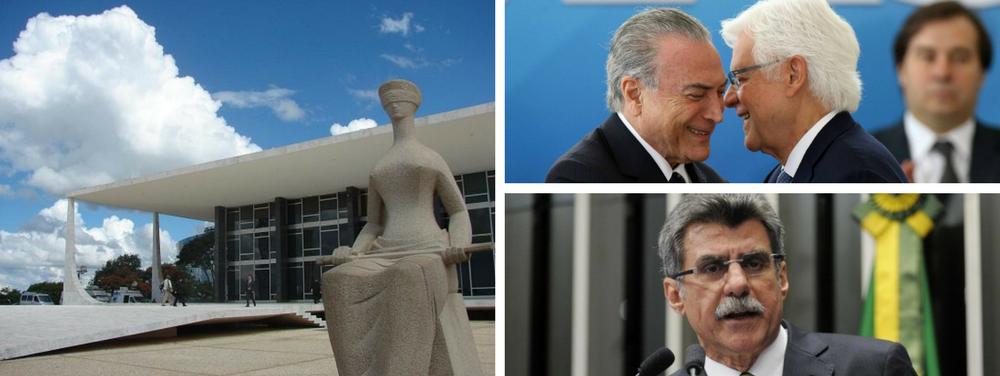 Stf, Moreira Franco, Temer, Jucá