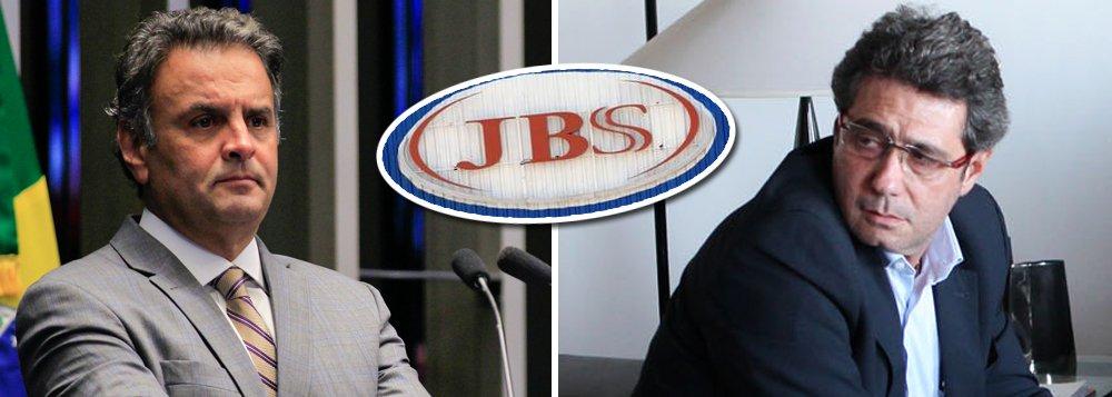 """Em seu acordo de delação premiada, o executivo da J&F Ricardo Saud afirmou que o senador afastado Aécio Neves (PSDB-MG) """"saiu endividado"""" da campanha de 2014 e que, a partir de então, o tucano, seu primo, Frederico Pacheco, o Fred, e sua irmã, Andrea, ligavam """"24 horas por dia"""" para pedir propinas; segundo Saud e outros delatores, Aécio e seus parentes forçaram tanto que a JBS acabou precisando comprar a sede de um jornal mineiro para poder viabilizar a transferência de milhões para o grupo"""