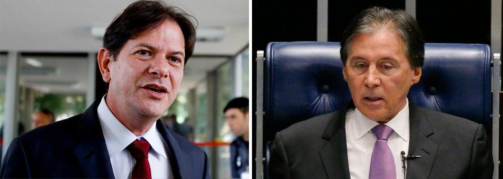 O ex-governador do Ceará, Cid Gomes (PDT), e o presidente do Senado, Eunício Oliveira (PMDB) foram citados na delação premiada de Joesley Batista, um dos sócios da JBS. Segundo o empresário, eles teriam recebido a quantia de R$ 20 milhões e R$ 5 milhões, respectivamente. As informações são do jornal O Globo