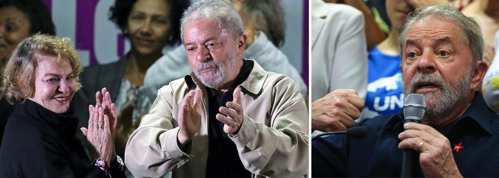 """""""Marisa é a primeira vítima da Lava Jato. Não suportou a situação em que Sergio Moro a colocou. Indiciada sem motivo algum. Não havia e não há provas contra Lula. Quanto mais contra ela. Nem se fala mais do caso do tríplex. O """"crime"""" dela foi visitar o imóvel duas vezes, que nunca foi dela nem de Lula como agora está provado"""", diz o colunista do 247 Alex Solnik, sobre a morte confirmada da ex-primeira-dama do Brasil; """"Foi uma mulher corajosa que sempre esteve ao lado do marido, na alegria e na tristeza. Sua morte prematura cobre de vergonha os brasileiros que ainda não perderam a sensibilidade e o bom senso. A República de Curitiba se especializou em tortura psicológica"""", afirma; quando foi alvo de condução coercitiva, Lula exigiu respeito a dona Marisa"""