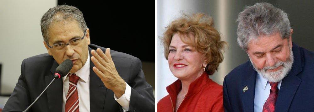 Deputado Carlos Zarattini (PT), Marisa Letícia, Lula
