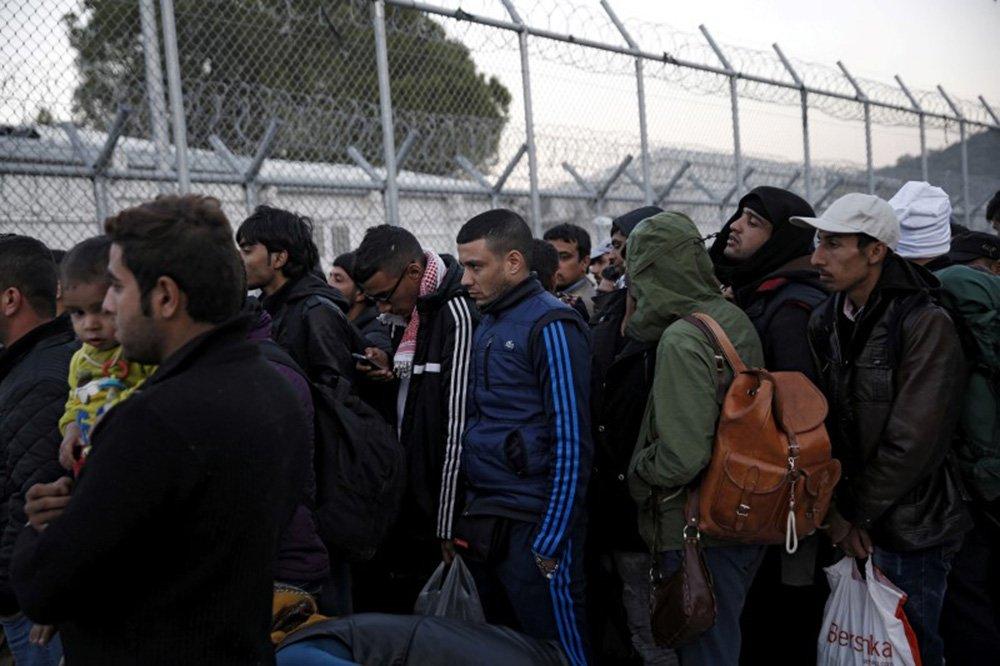Refugiados e imigrantes vistos na ilha grega de Lesbos. 05/11/2015 REUTERS/Alkis Konstantinidis/File photo